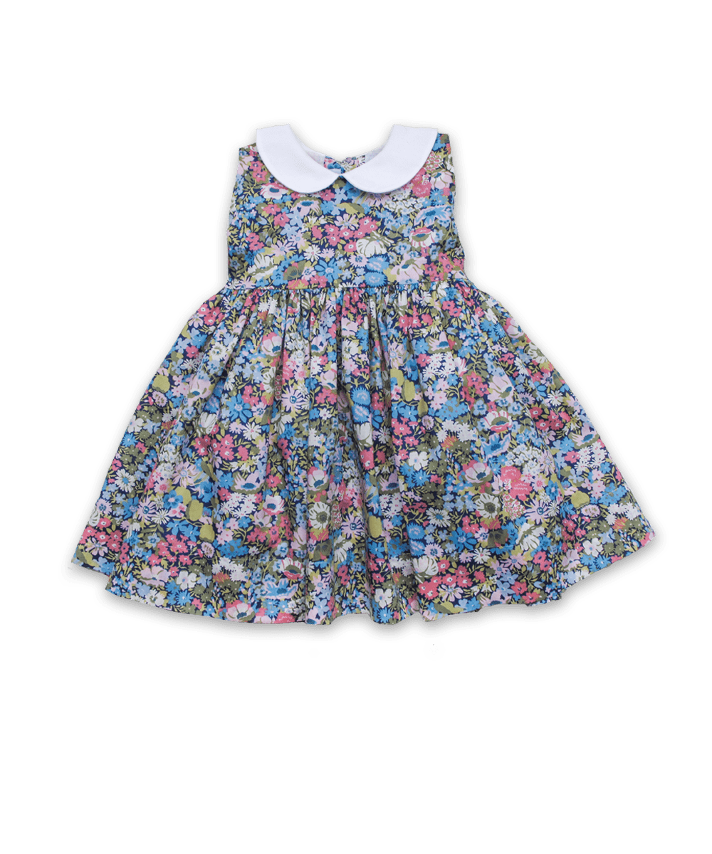 Eliza Dress in Liberty Thorpe