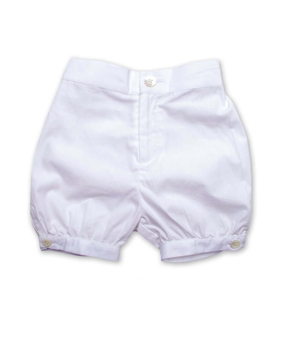 Bubble Short in White