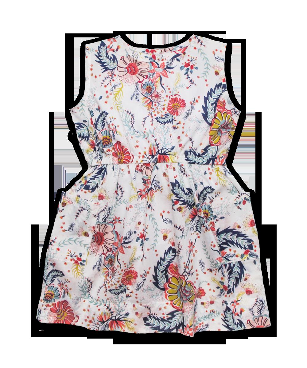Filipa Dress in Liberty Aquatic Bloom