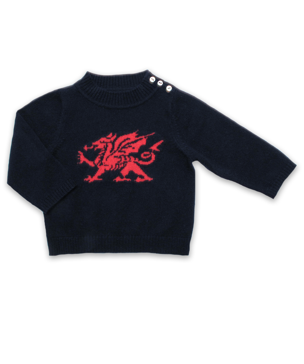 Cashmere Dragon Sweater