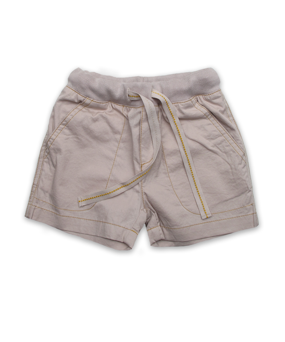 Boy's Relaxed Short in Khaki