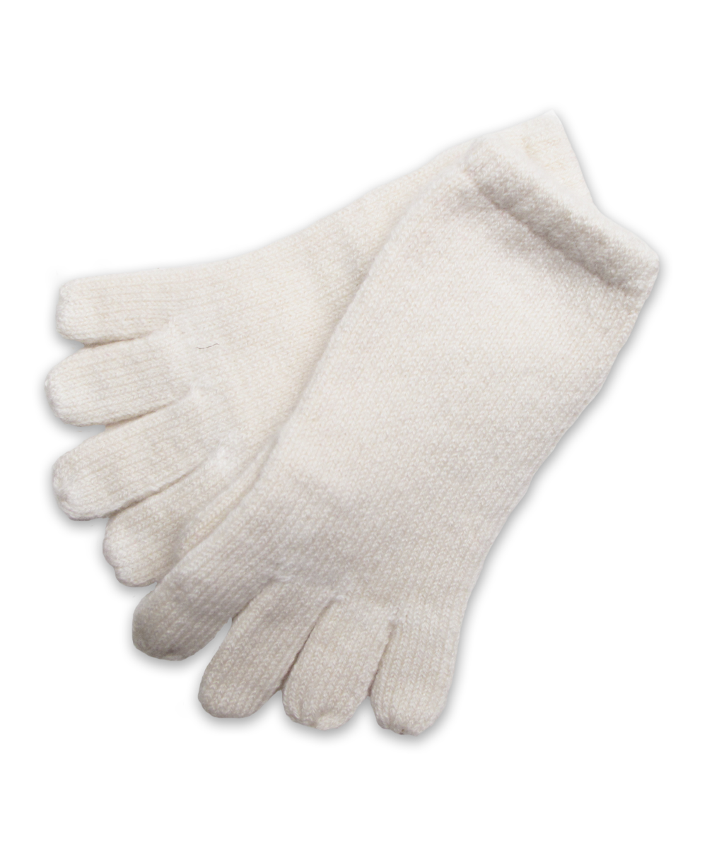 Cashmere Glove in Creme