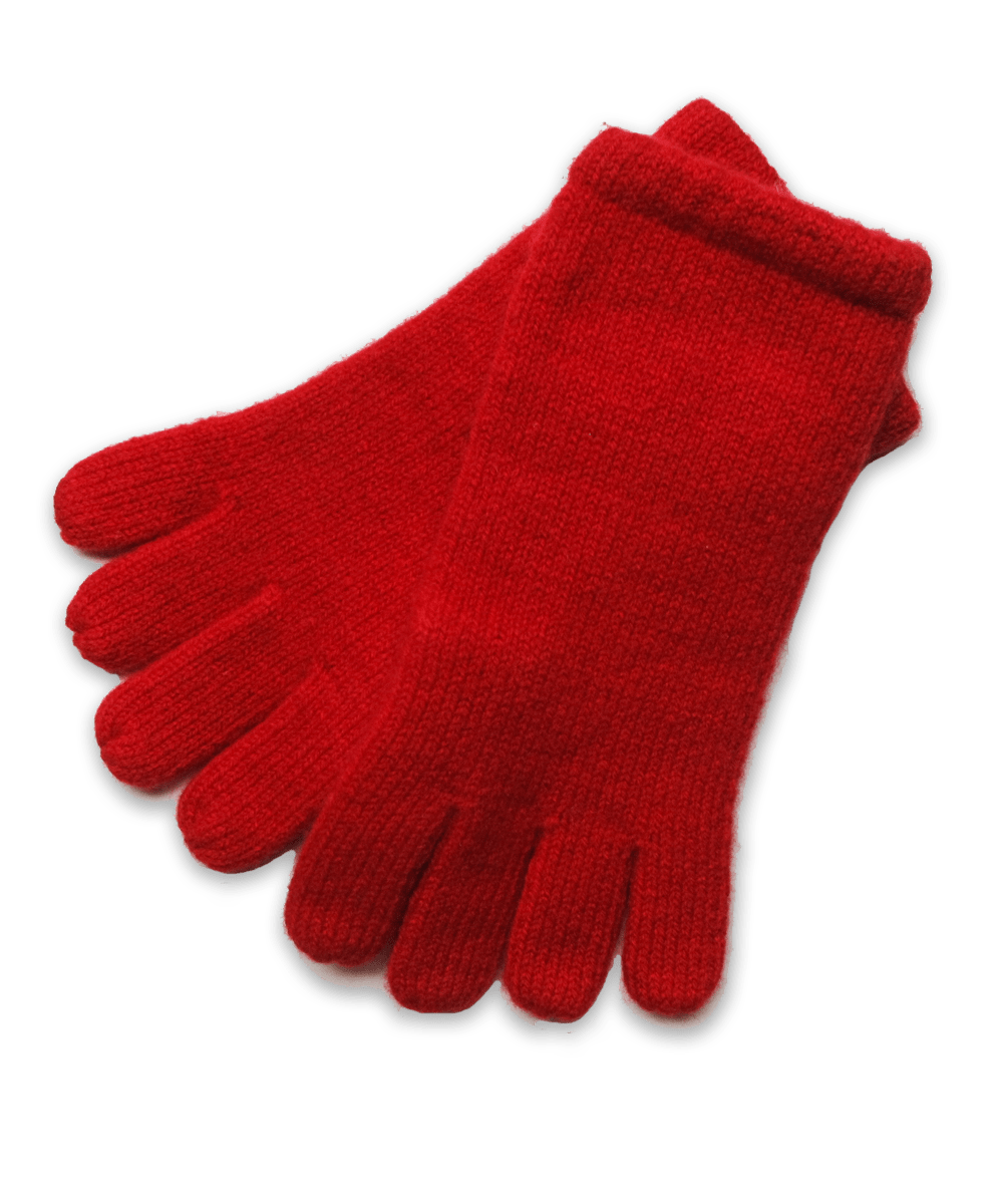 Cashmere Glove in Red