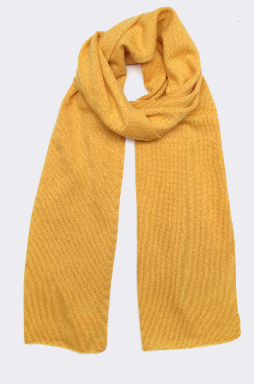 cashmere scarf, beeswax