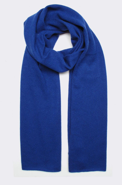 cashmere scarf, marine