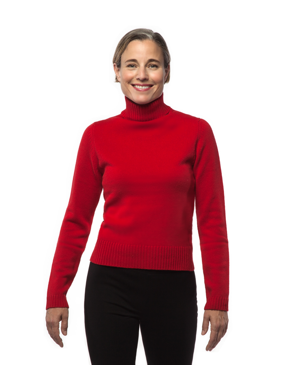Turtleneck in Red