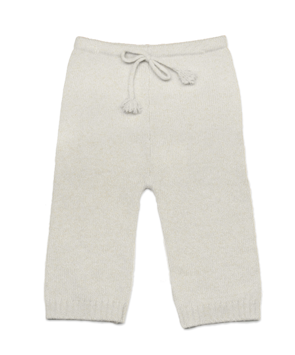 Cashmere Baby Pant in Creme