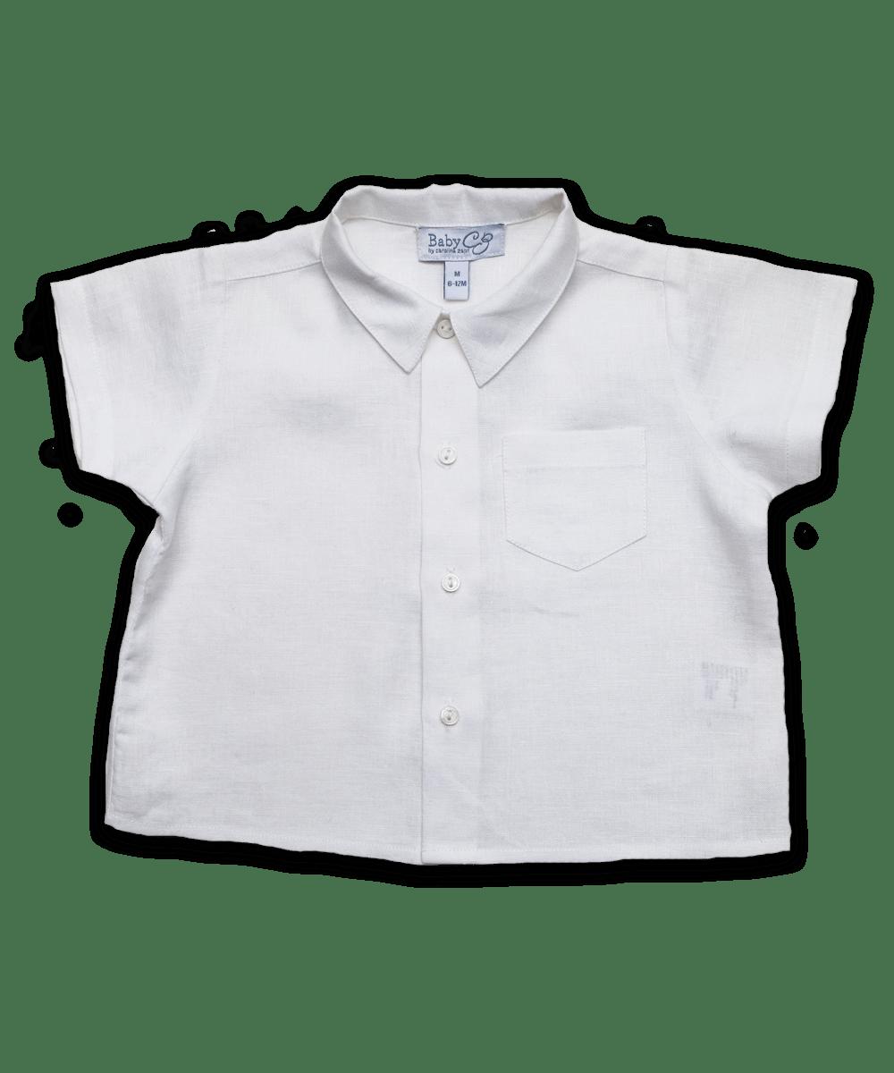 Baby Boy linen shirt