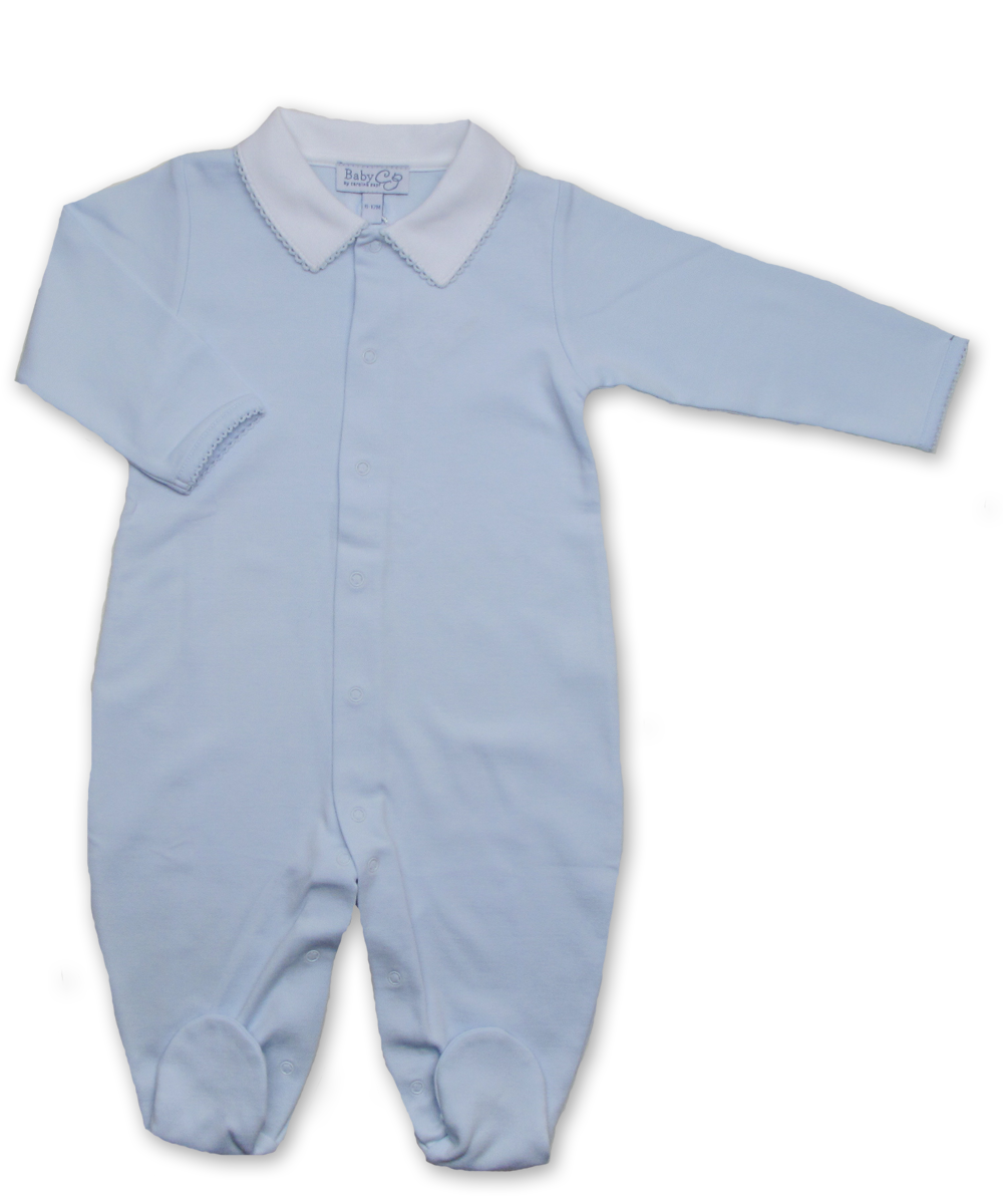 onesie with boys' collar