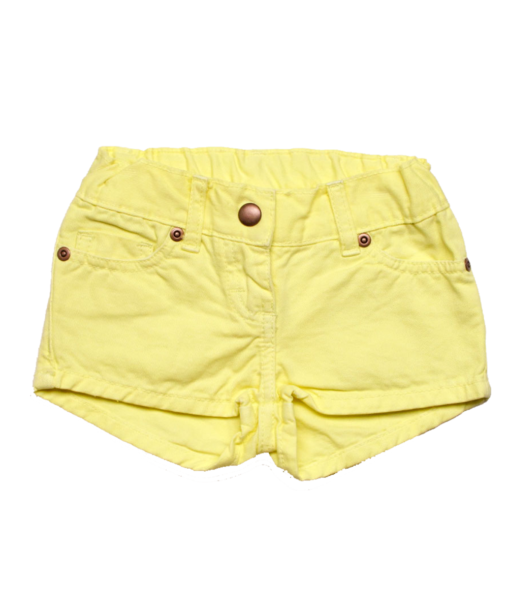 Denim Short in Citrus