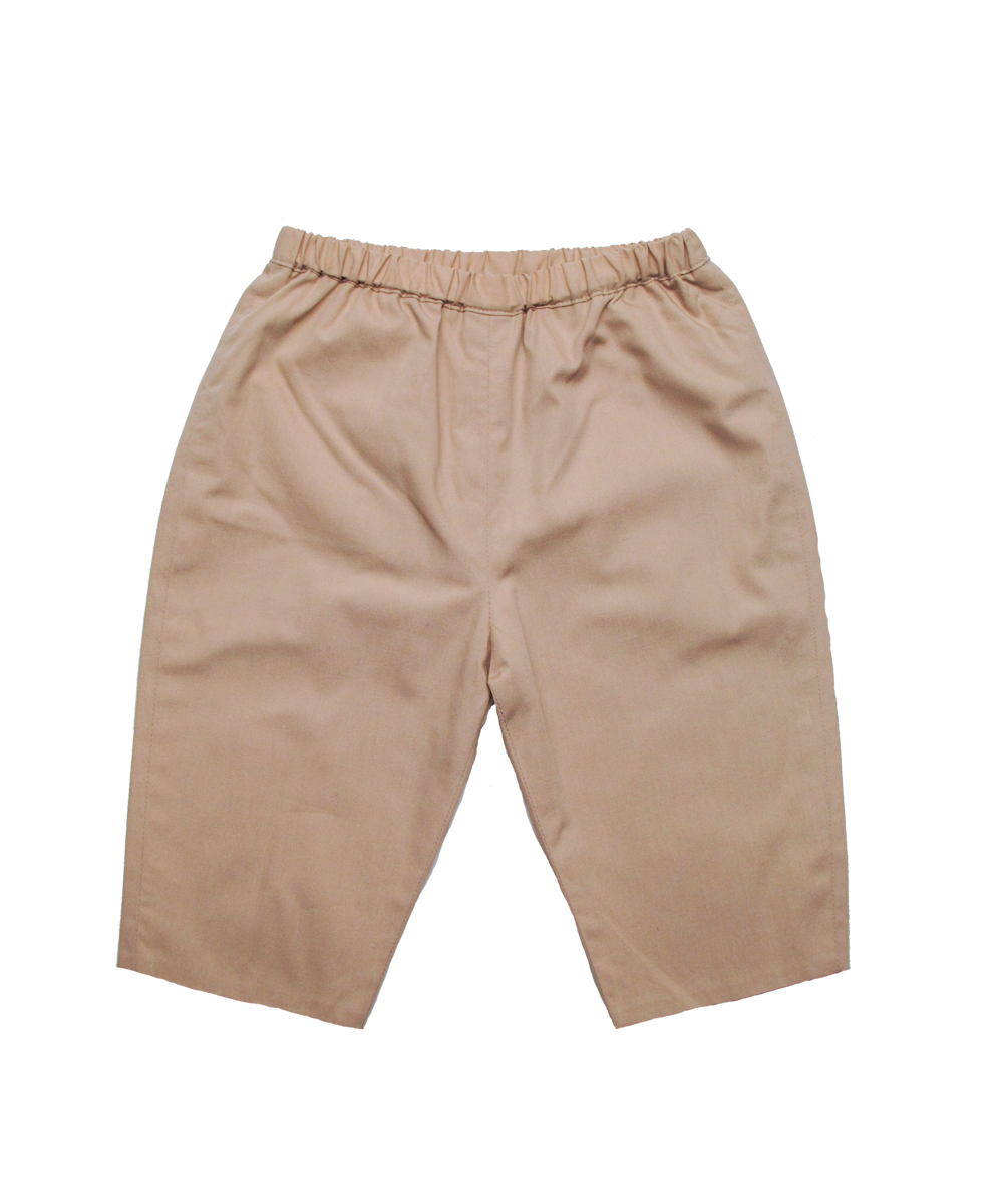 Cotton Baby Pant in Khaki