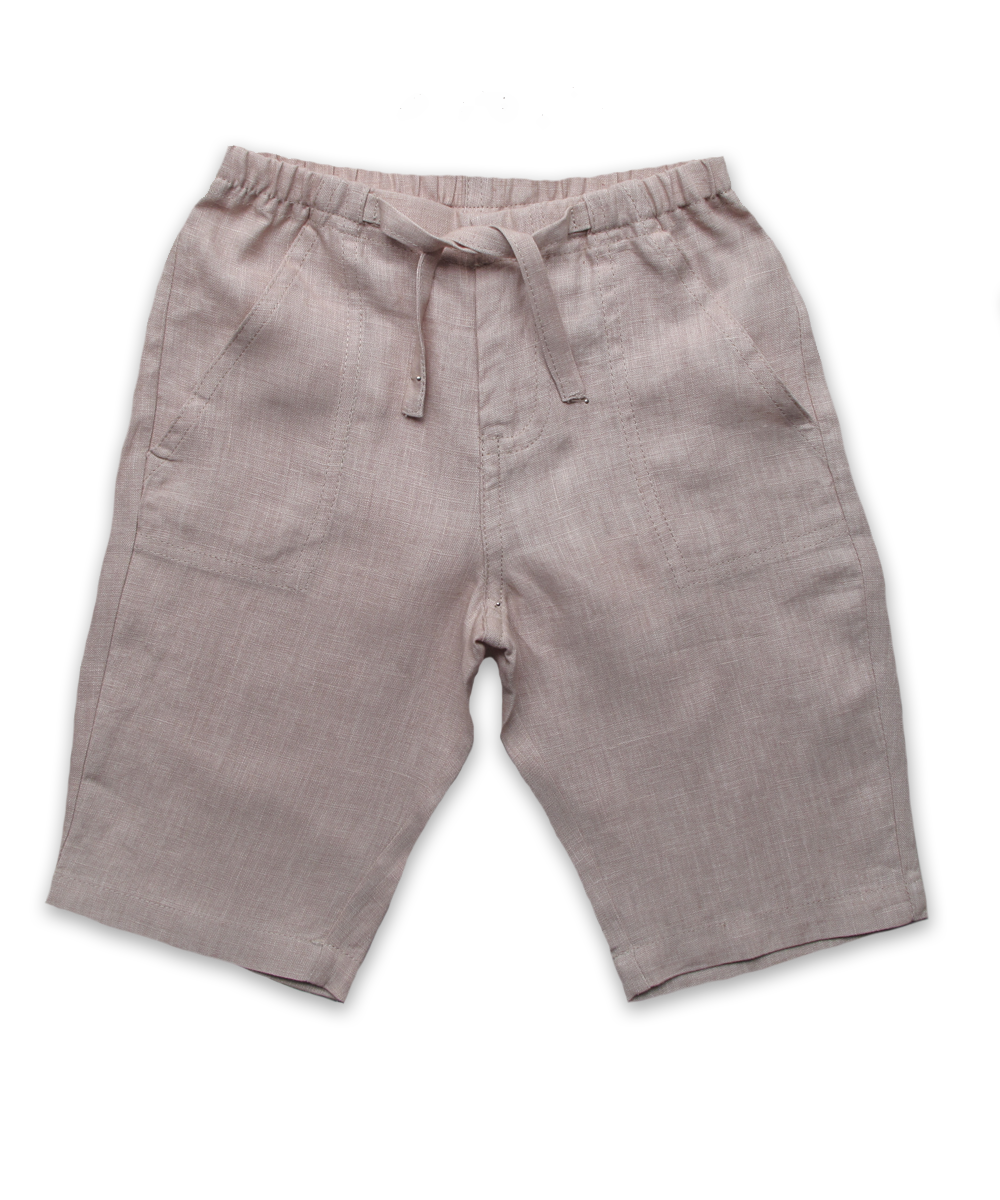 Baby Linen Pant in Khaki