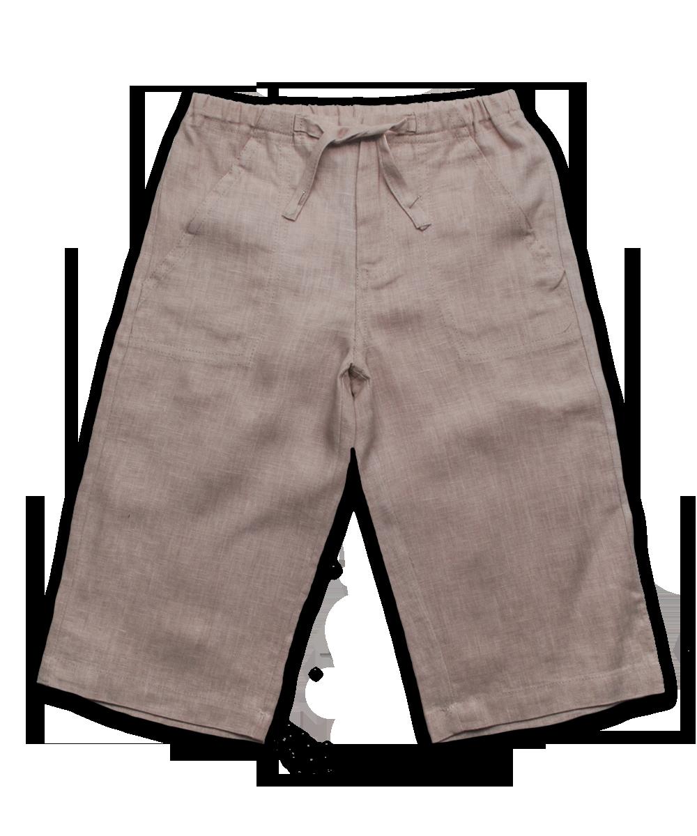 Linen Pant in Khaki