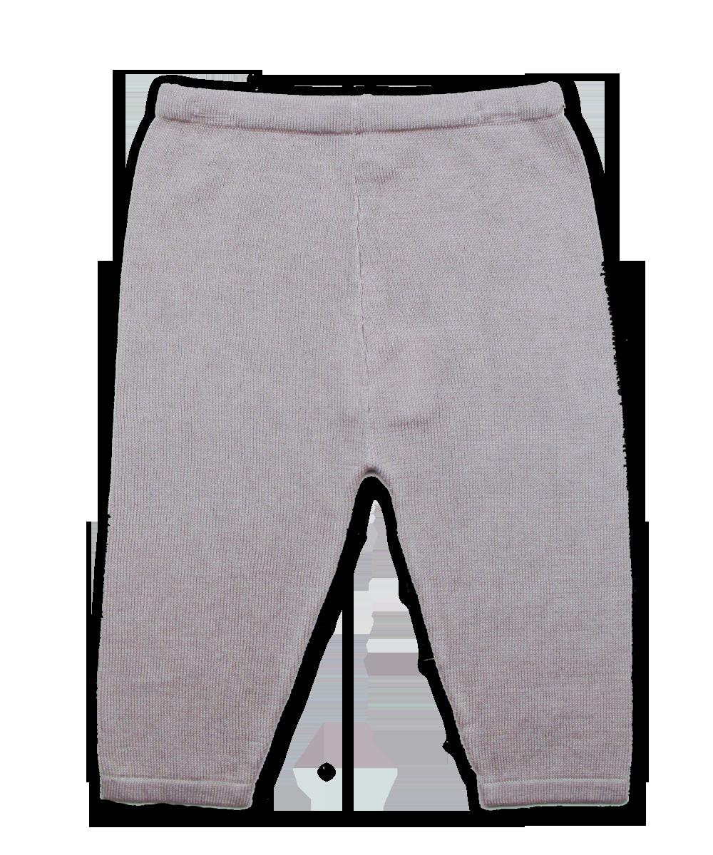 Luxury Cotton Knit Legging in Moon