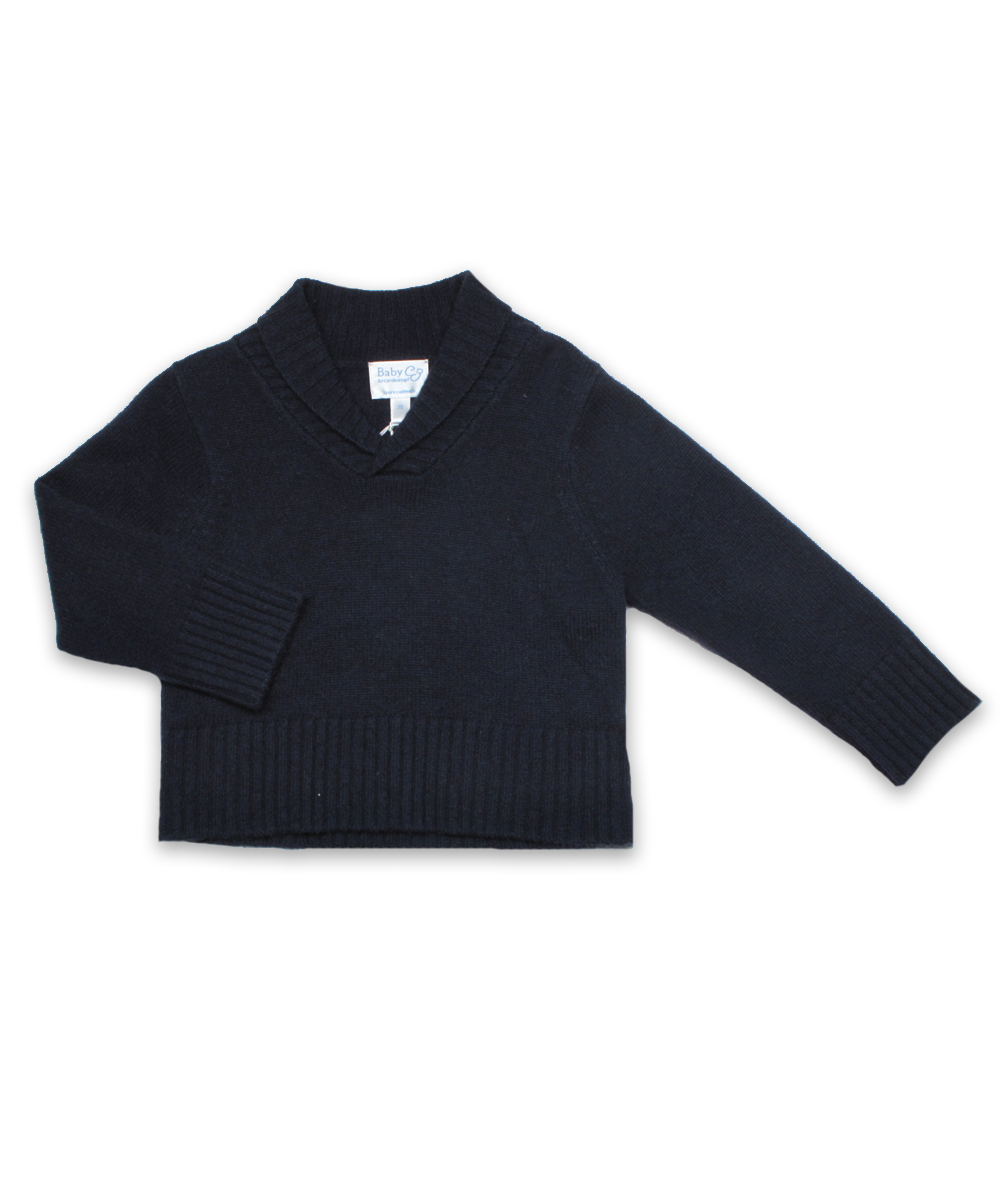 Cashmere Nicky Sweater in Navy