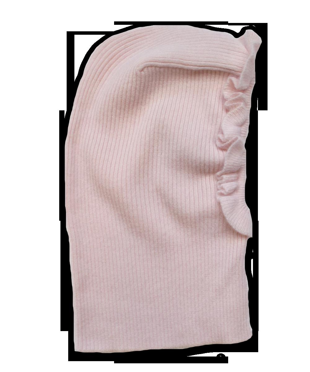Ruffle Cap in Pink