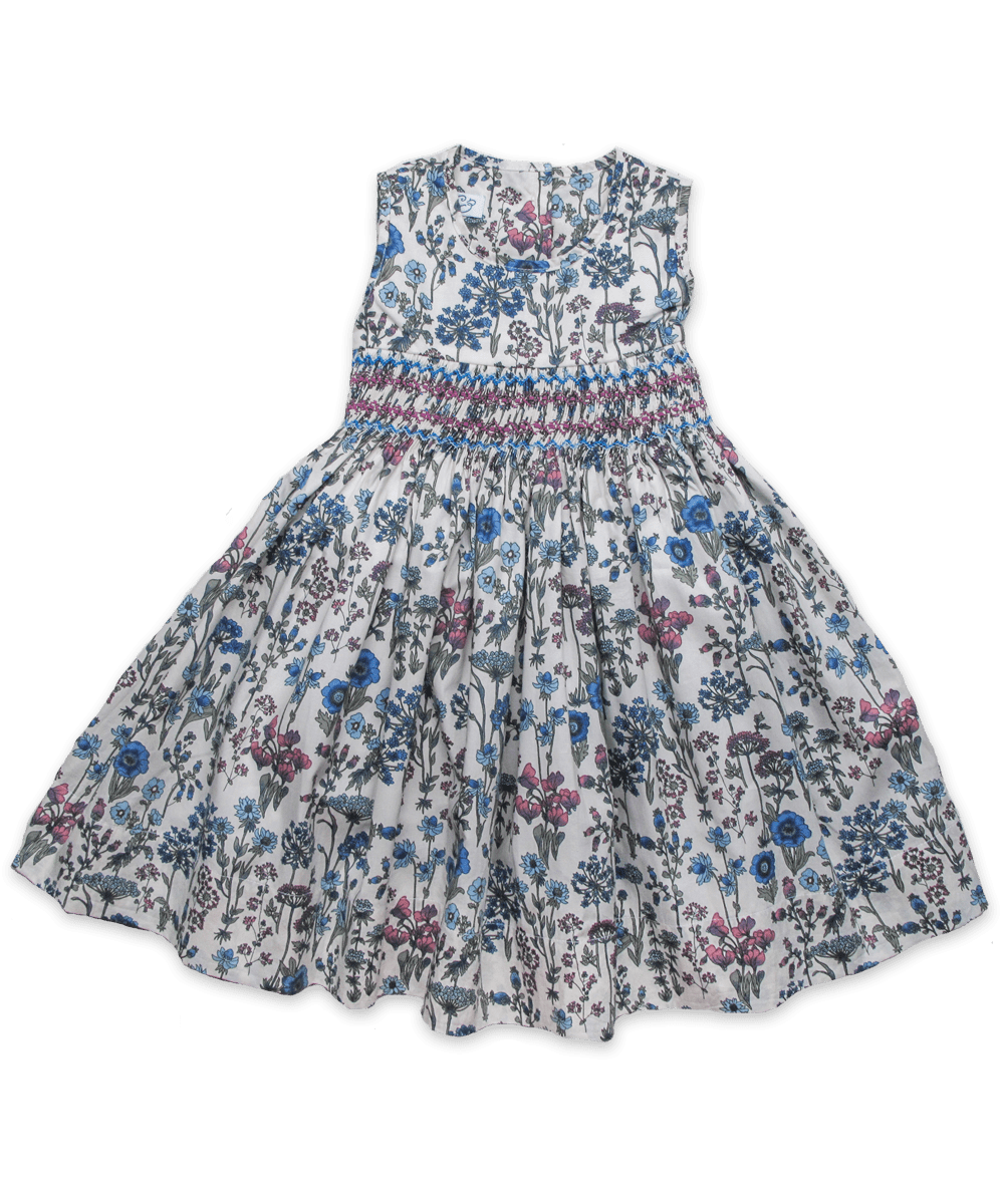 Camille Dress in Spring Floral