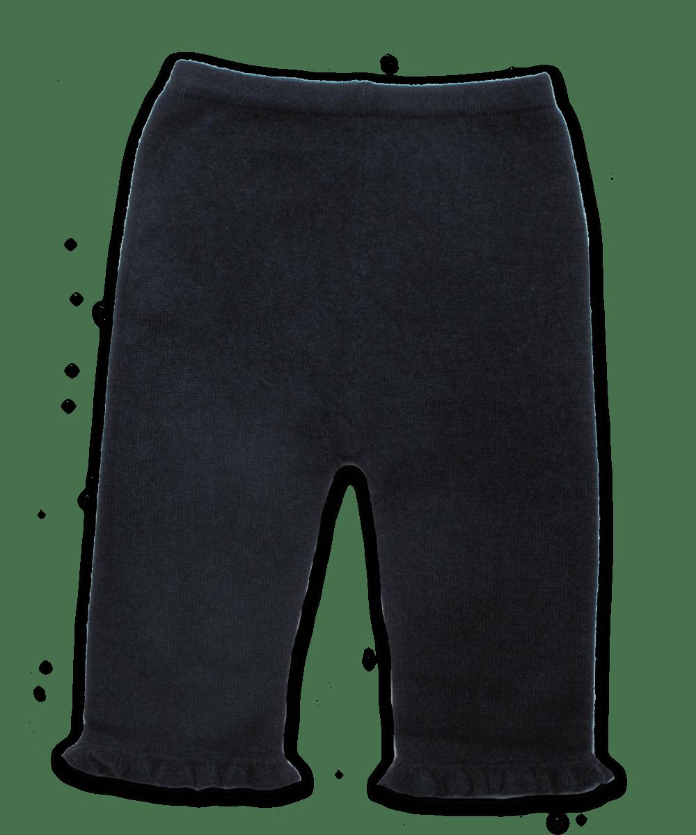 Tiny Ruffle Pant in Navy