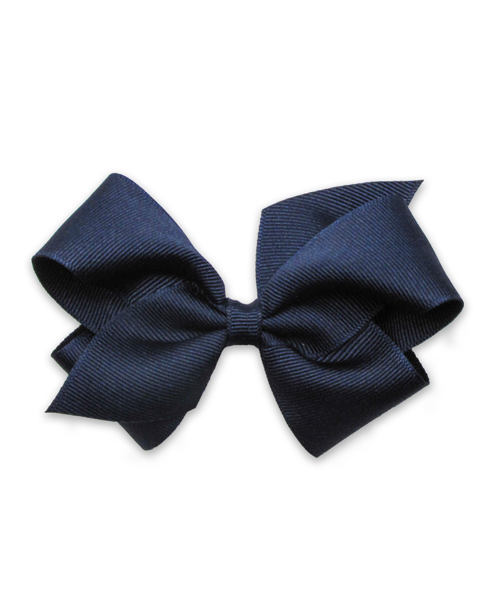 Grosgrain Bow in Navy