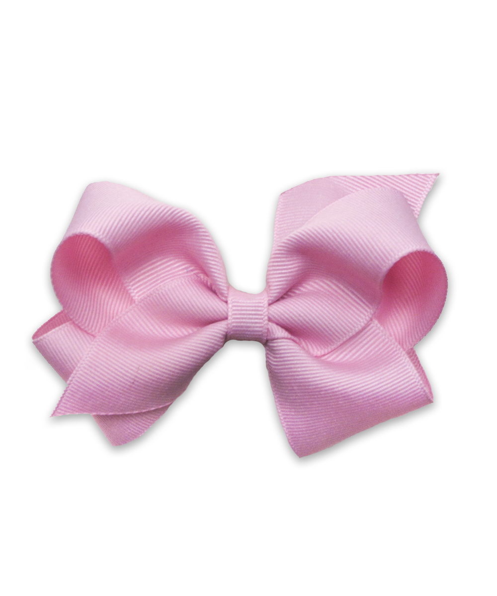 Grosgrain Bow in Pink