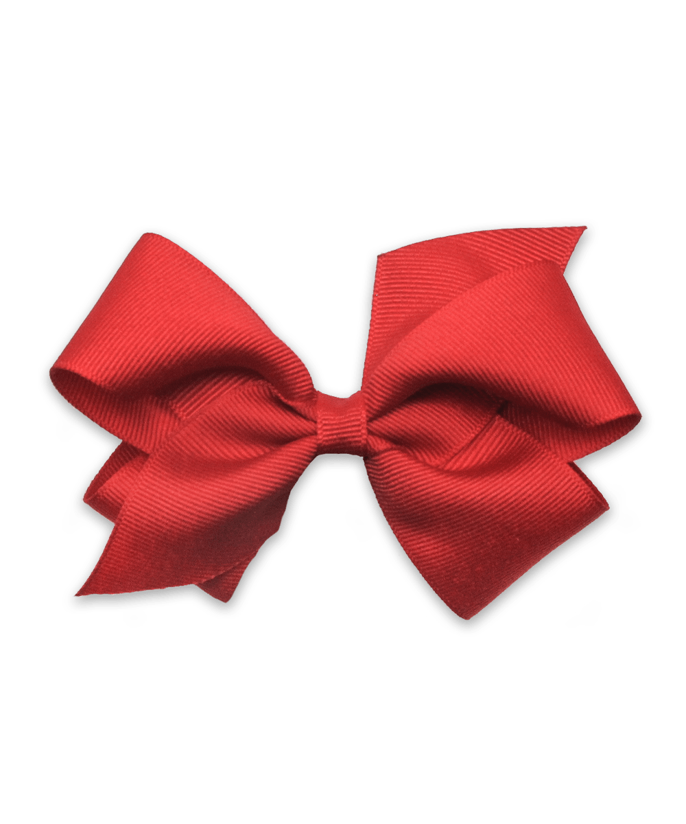 Grosgrain Bow in Red