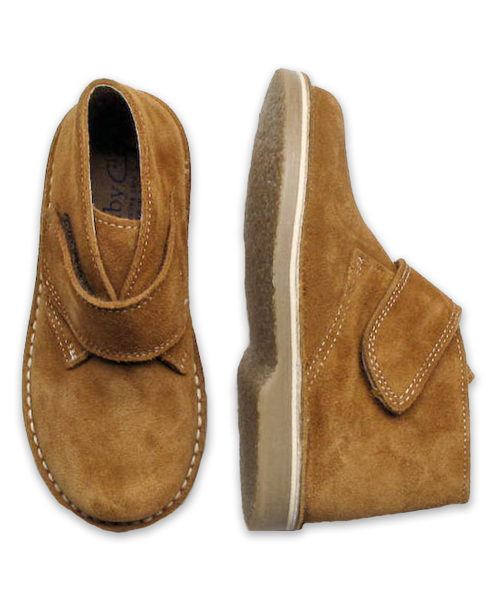 Boy's Suede Boot in Deer