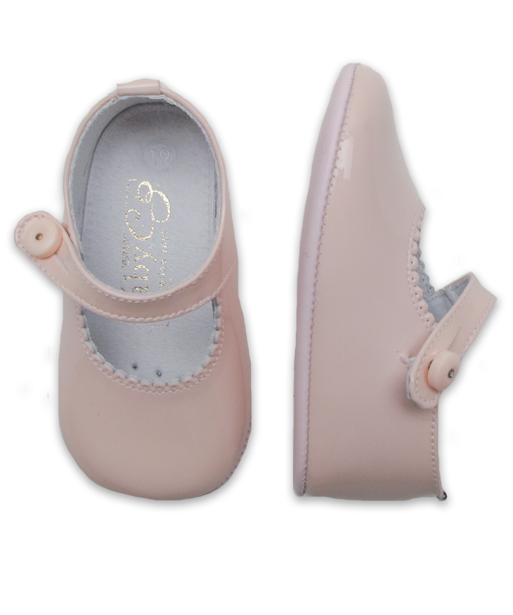 Baby Girl's Mary Jane in Pink Patent Leather